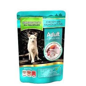 Natures Menu Cat Pouches Adult Chicken, Salmon & Tuna 0,1kg