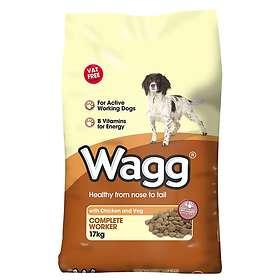 Wagg Complete Worker Chicken & Veg 17kg