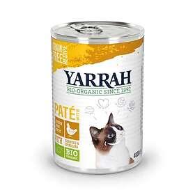 Yarrah Cat Adult Cans Pate Fish, Spirulina & Seaweed 0,4kg