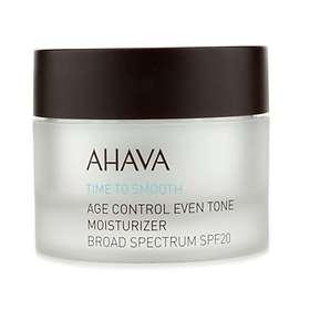 AHAVA Time To Smooth Age Control Even Tone Moisturizer SPF20 50ml
