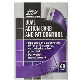 Boots Dual Action Carb and Fat Control 60 Tablets