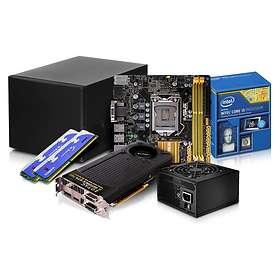Komplett PC i delar Mini-ITX Gamer - 3,2GHz QC 8GB 240GB