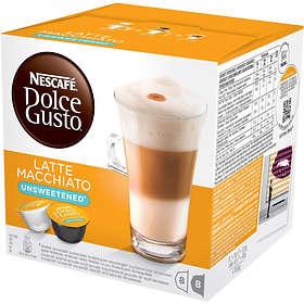 Nescafé Dolce Gusto Latte Macchiato Unsweetened 16st (kapslar)