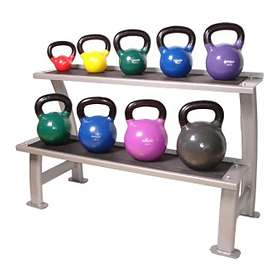 Physical Company Storage for 12 Kettlebell Rack