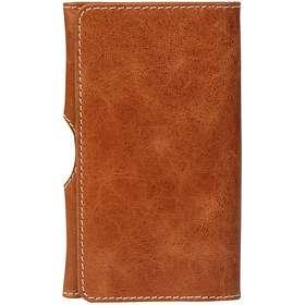 "D. Bramante 1928 Leather Wallet Golden Tan 4.8"""
