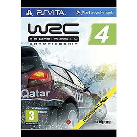 WRC 4: FIA World Rally Championship (PS Vita)