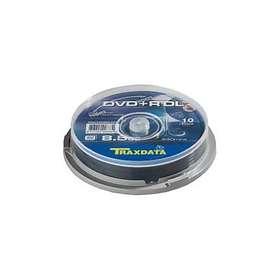 Traxdata DVD+R DL 8,5GB 8x 10-pack Spindel