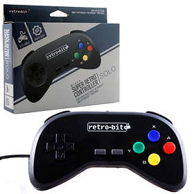 Retro-Bit Super Retro SNES Wired Controller Solo (SNES)