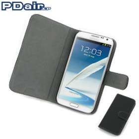 PDair Ultra Thin Leather Case Book for Samsung Galaxy Note II