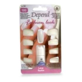 Depend Fashion Look False Nails 100-pack