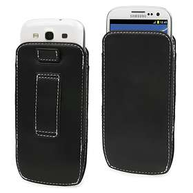 Muvit Leather Style Pouch for Samsung Galaxy S4