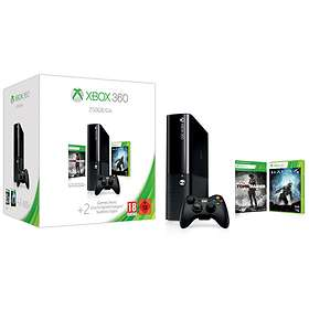 Microsoft Xbox 360 E 250GB (incl. Halo 4 + Tomb Raider)