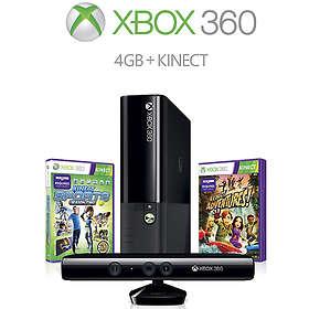 Microsoft Xbox 360 E 4Go (+ Kinect + Kinect Adv. + Kinect Sports 2)