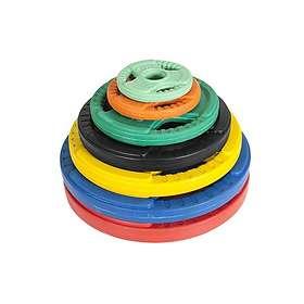 Gorilla Sports Viktskivor Gummi 1,25kg
