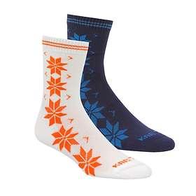 Find the best price on Kari Traa Vinst Wool Sock 2-Pack (Women s ... afd4d90932