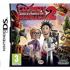 Cloudy with a Chance of Meatballs 2 (DS)