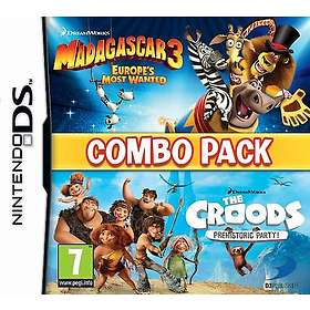 Madagascar 3/The Croods Combo Pack