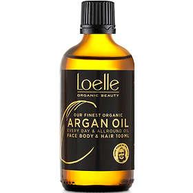 Loelle Arganolja Face Hair & Body Oil 100ml