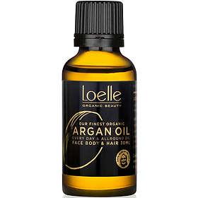 Loelle Argan Face Hair & Body Oil 30ml