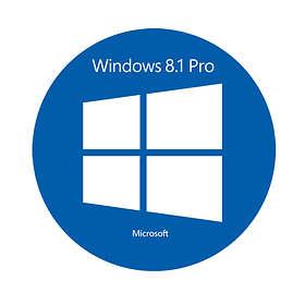 Microsoft Windows 8.1 Pro Fra (64-bit OEM)
