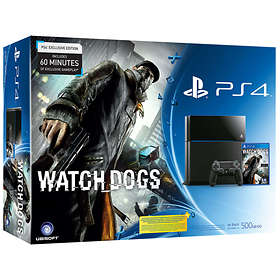 Sony PlayStation 4 500GB (incl. Watch Dogs)