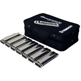 Hohner Diatonic MS System Blues Harp MS Set