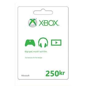 Microsoft Xbox Gift Card - 250 SEK