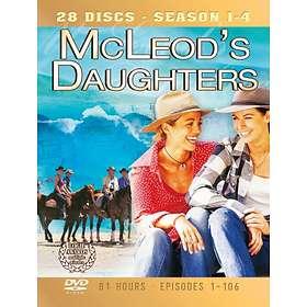 McLeod's Döttrar Säsong Säsong 1-4 (28-Disc)