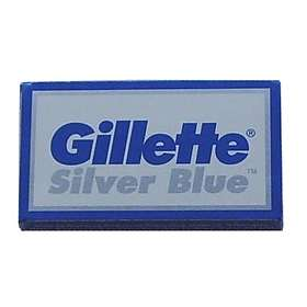 Gillette Silver Blue Safety Double Edge 5-pack