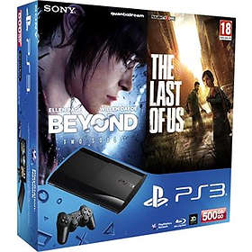 Sony PlayStation 3 Slim 500Go (+ Beyond Two Souls + The Last of Us)