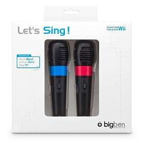 Bigben Interactive Let's Sing! Dual Micro (Wii)