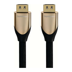 Sandstrøm HDMI - HDMI High Speed with Ethernet 2m