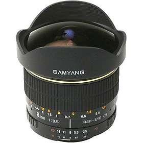 Samyang MF 8/3,5 Fisheye CS for Samsung NX