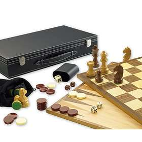 Gibsons Games Traditional 3in1 Games Set