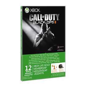 Microsoft Xbox Live Gold 12+1 Month Card - CoD Black Ops 2 Edition