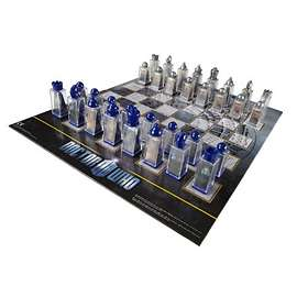 Character Dr Who Chess Set
