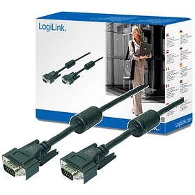 LogiLink Double Shielded VGA - VGA 10m