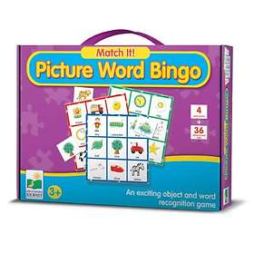 The Learning Journey International Match It! Picture Word Bingo