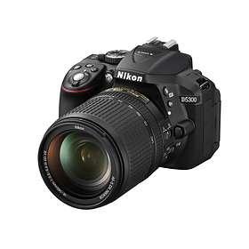 Nikon D5300 + 18-140/3,5-5,6 VR