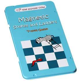 The Purple Cow Magnetic Snakes & Ladders (pocket)