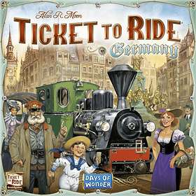 Days of Wonder Ticket to Ride: Germany (exp.)