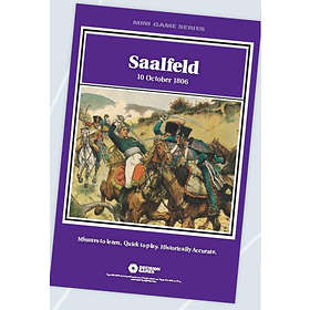Decision Games Mini Game Series: Saalfeld: Prelude to Jena
