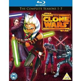Star Wars: The Clone Wars - Seasons 1-5 (UK)