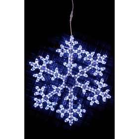 Star Trading Snöflinga Rope Light Siluett (H750)