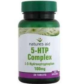 Natures Aid 5-HTP Complex 100mg 30 Capsules