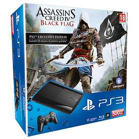 Sony PlayStation 3 Slim 500Go (+ Assassin's Creed IV: Black Flag)