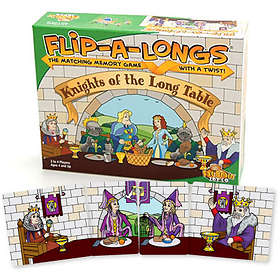 Fat Brain Toys Flip-A-Longs: Knights Of The Long Table