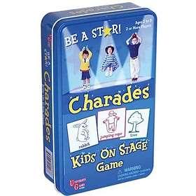 University Games Charades Kids On Stage (pocket)