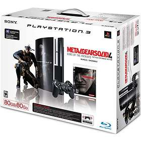 Sony PlayStation 3 80Go (+ Metal Gear Solid 4)