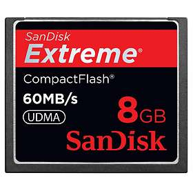 SanDisk Extreme Compact Flash 400x 60MB/s 8GB